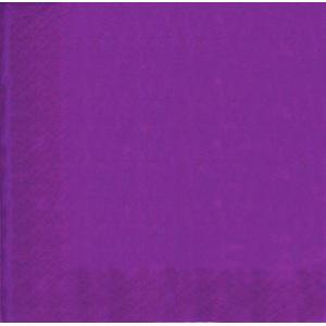 Purple Party Napkins x 20