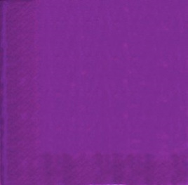 Purple Party Napkins x 20