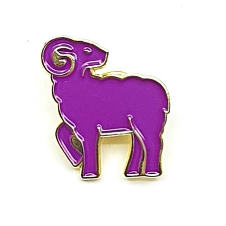 Purple Sprouting Ram - Enamel Pin