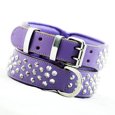 Rogue Royalty Imperial Purple Diamond Collar