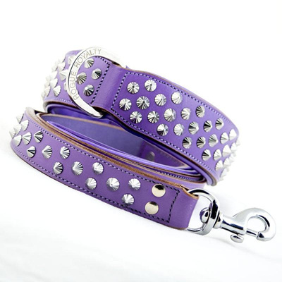 Rogue Royalty Imperial Purple Diamond Leash