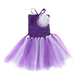 PURPLE TUTU DRESS SIZE 0-2 YRS