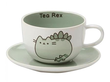 Pusheen Teacup & Saucer Set Tea Rex