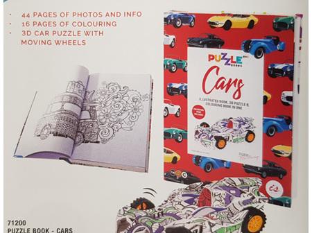 PuzzLe Book - Cars