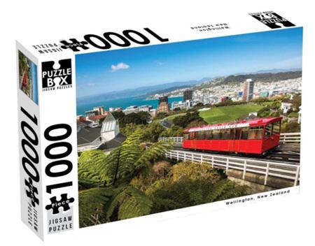 Puzzle Box 1000 Piece Jigsaw Puzzle:  Wellington NZ