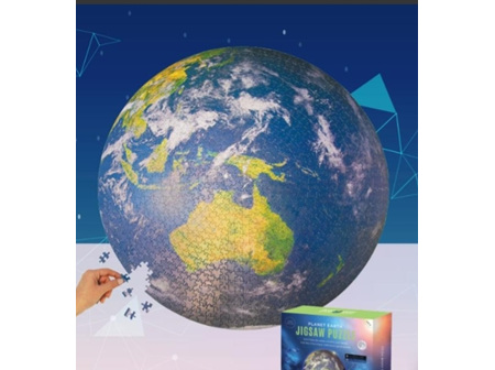 Puzzle - Earth Round 1000pc