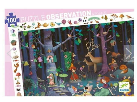 Puzzle - Enchanted Forest 100pc