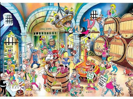 Puzzle - Wine Cellar 1500pc