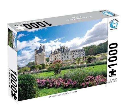 Puzzlers World 1000 Piece Jigsaw Puzzle: Chenonceau Castle