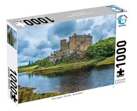Puzzlers World 1000 Piece Jigsaw Puzzle: Dunvegan Castle Scotland
