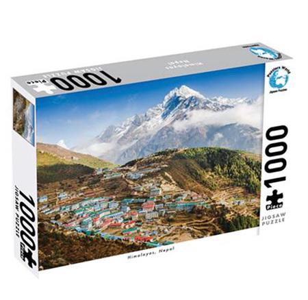 Puzzlers World 1000 Piece Jigsaw Puzzle: Himalayas Nepal