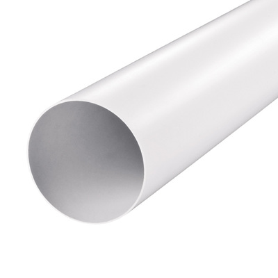PVC Duct 1m x 125mm, White
