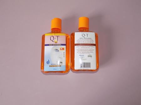 Q-T Baby Bodywash 250ml