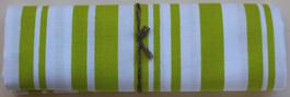 QF007  Bright Green Stripe