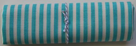 QF011  Teal Stripe
