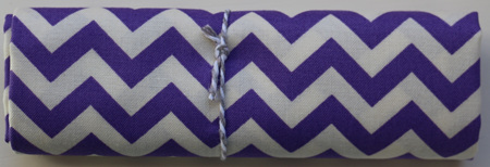 QF014  Purple Chevron