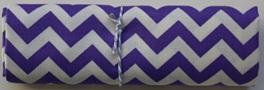 QF014  Purple Chevron
