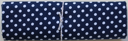 QF022  Spotty Dot Navy