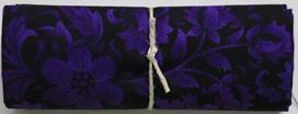 QF072  Deep Purple Floral