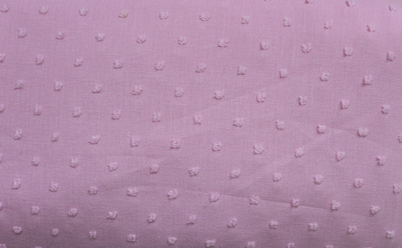 QF078  Baby Pink with Textured Dots