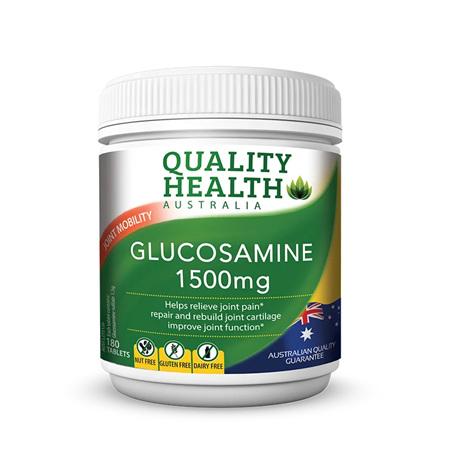 QH GLUCOSAMINE 1500MG 180S