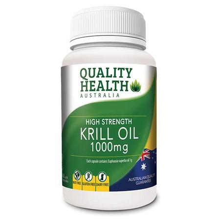 QH KRILL OIL HIGH STRENGTH 1000MG 60