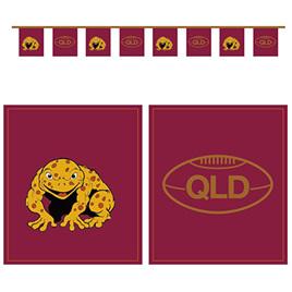 QLD flag bunting