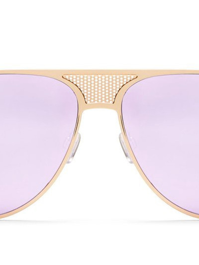 QUAY-X-KYLIE SUNGLASSES -ICONIC Gold/Purple