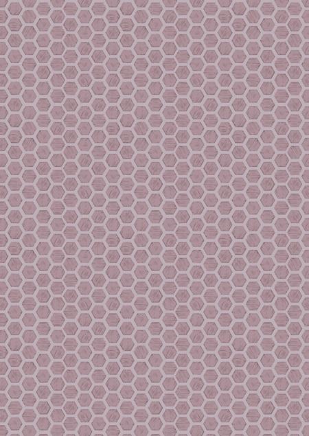 Queen Bee Honeycomb Lilac A501-3
