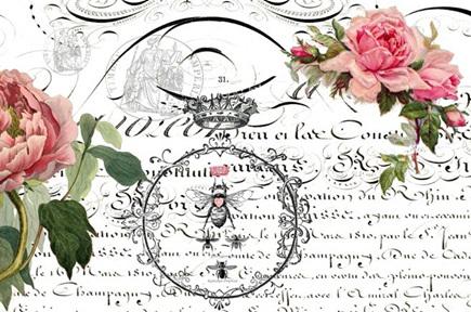 Queen Bee Royce Decoupage Paper