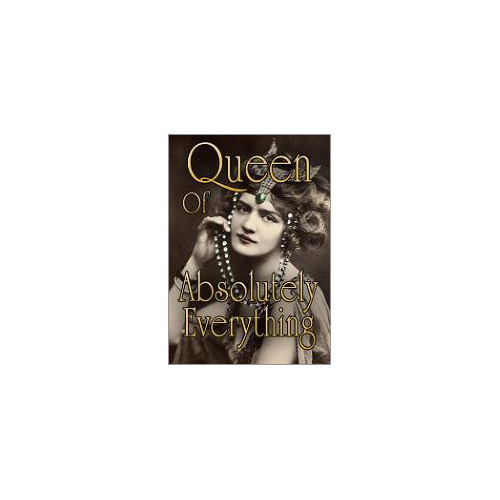 queen of everything fridge magnet gift