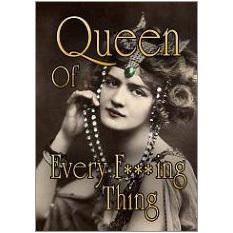 Queen of F Fridge Magnet