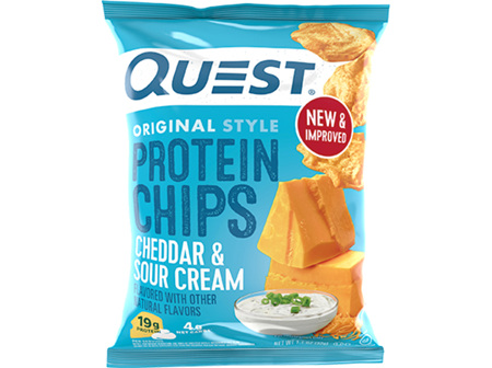 Quest Cheddar & Sour Cream Protein Chips