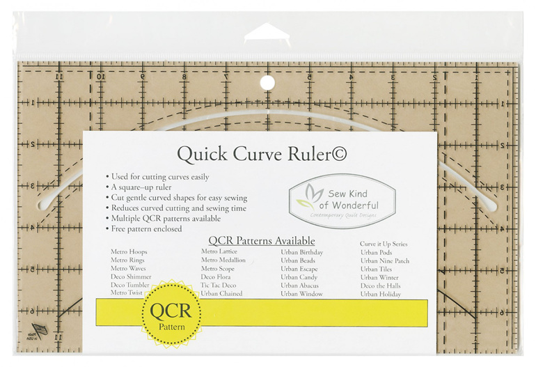 Quick Curve Ruler from Sew Kind of Wonderful