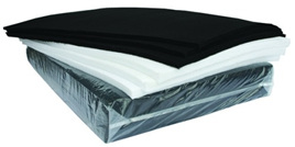 GreenStuf® AAB Autex Acoustic Blanket 35-50 Black (5 sheets per pack)