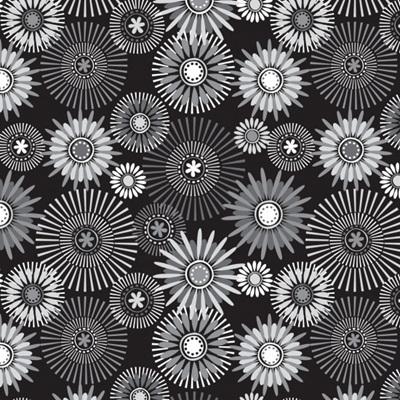Quilt Backs 274cm - Modern Garden