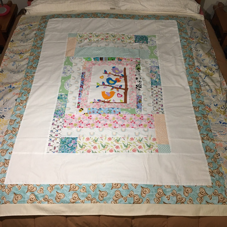 Quilt for King Single Size Bed #18