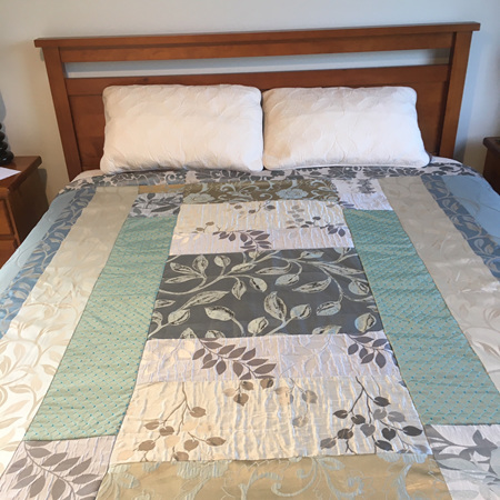 Quilt for Queen to King Size bed #05