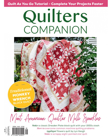 Quilters Companion - No. 108 2021