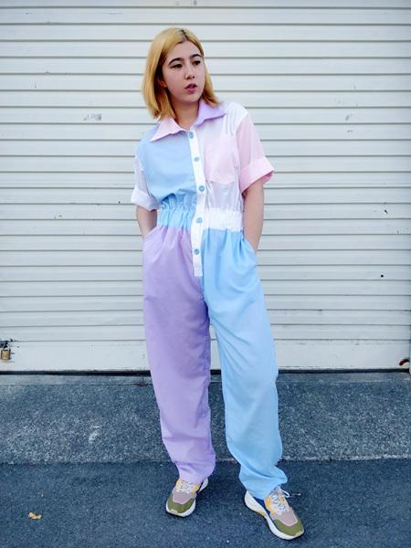 'Quinn' Jumpsuit in Dreamy Pastel