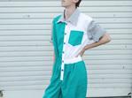 'Quinn' Jumpsuit in Minty Fresh