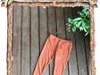 'Quinn' Leggings, 'Copper' 100% NZ Merino, 0-3 months
