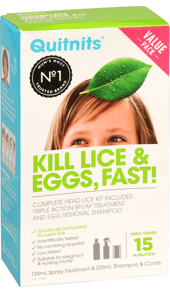 Quitnits Complete Head Lice Kit