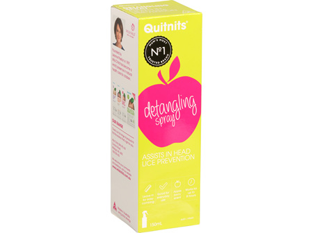 Quitnits Detangling Defence Spray 150ml