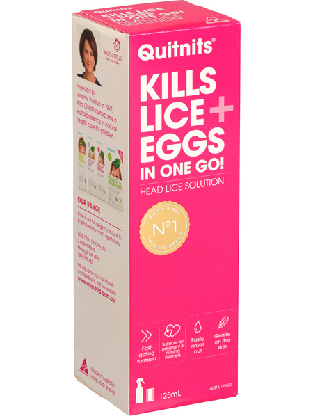 Quitnits Head Lice Solution 125ml