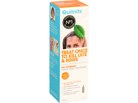 Quitnits Once Only Treatment 200ml