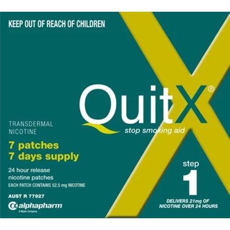 QUITX PATCH 14MG 7