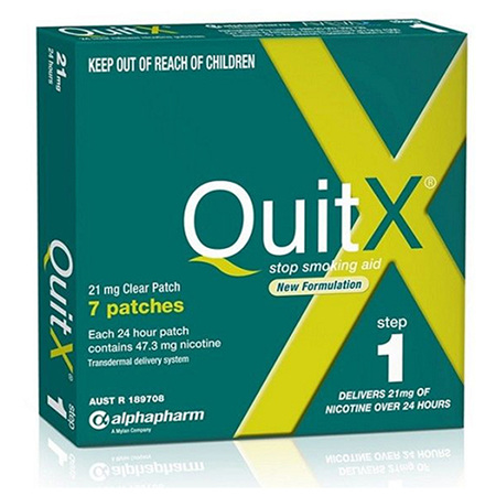 QUITX PATCH 21MG 7