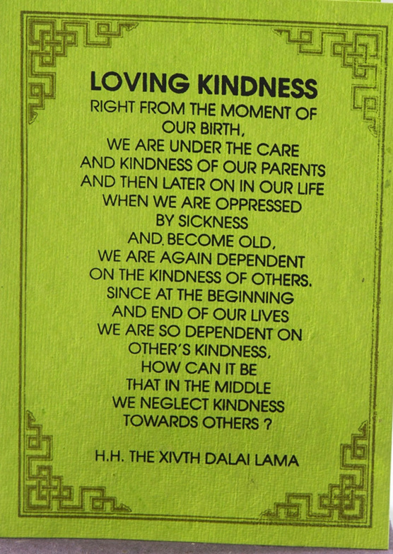 Loving Kindness Quotes Enchanting Loving Kindness  The Himalayan Trading Post