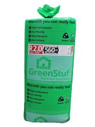 R2.0 70mm GreenStuf Wall Pads 560mm wide
